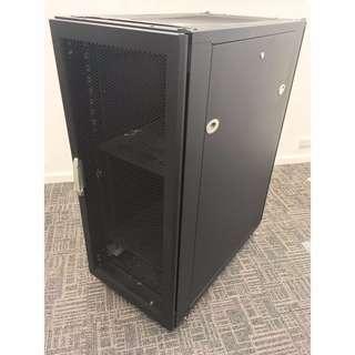 USED 27U AV Server Movable Floor Standing Rack Enclosures