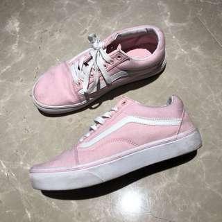 Vans粉色