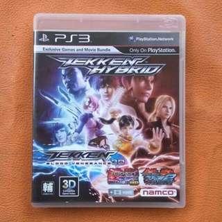 Kaset PS3 Tekken Hybrid