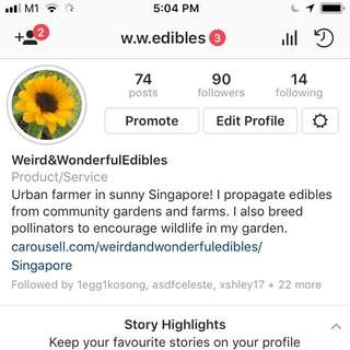 Follow for free plants