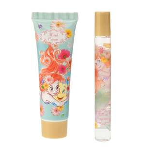 Japan Disneystore Disney Store Ariel the Little Mermaid Gerbera Hand Cream & Roll-on Fragrance Gift Set