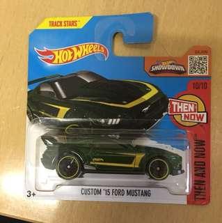 Hotwheels Custom 15 Ford Mustang 短卡版