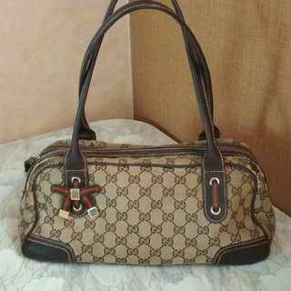 Gucci Princy Boston Bag Original Authentic