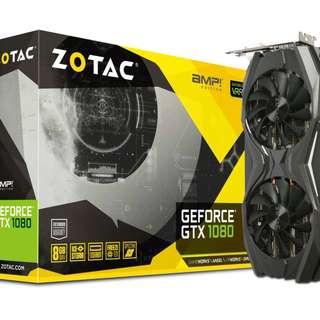Zotac GTX 1080 A.M.P GDDR5