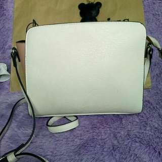 Stradivarius sling bag satchel