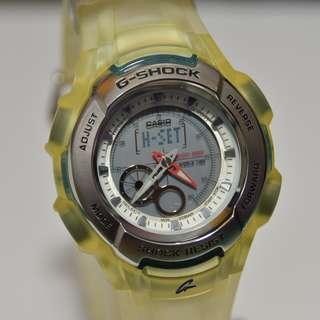 Casio - G-600K-7JR - G-Shock, Dolphin & Whale - I.C.E.R.C. (請注意:機芯面是普通版, 並沒有特別版圖案) (請留意Description)