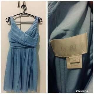 J.Crew sky blue dress