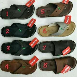 Sandal kickerse kulit, size : 39-43