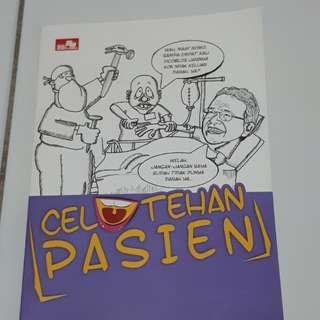 Novel komedi/ lucu : celotehan pasien