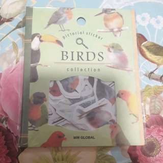 Scrapbook Stickers ( Birds) - Stationary