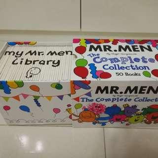 Mr Men Library. Complete Set of 50 books