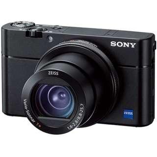 Sony CyberShot RX100 V〔RX100 M5〕公司貨 送電池組+馬克對杯