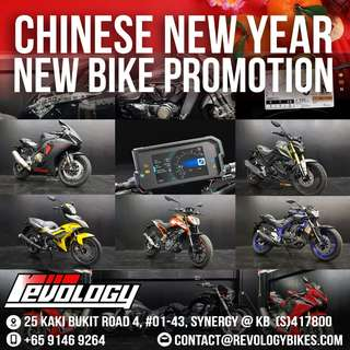 CNY NEW BIKE PROMOTION!! LIMITED TIME ONLY!