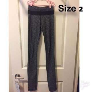Lululemon Gray Tights-size 2