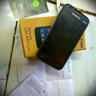 Hp samsung galaxy Ace4