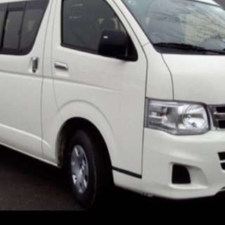Passenger mini bus/Coach/Van Transportation