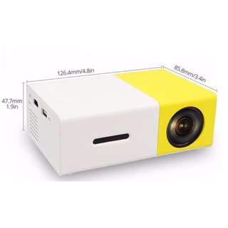 HD Mini Home Cinema YG300 🎦 Led Pico/Pocket Size Projector