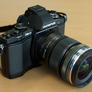 Camera for rental. Olympus EM-5 Mk I.