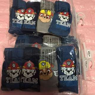 Instock now paw patrol underwear for 4-6yrs old ready stock brand new 4pcs set