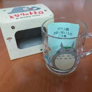 宮崎峻龍貓 Totoro glasses 透明玻璃杯