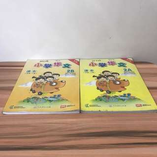 P2 Chinese Textbooks 2A/B Revised Edition