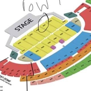 Mayday cat 1 row 1 tickets