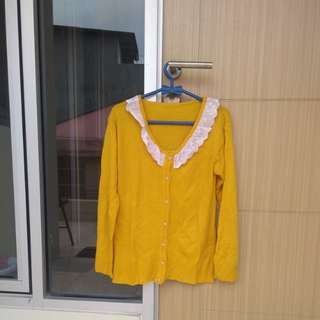Cardigan (Yellow)