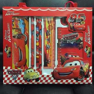 Children's Birthday Party Goodies Bag Mcqueen Car stationery set
