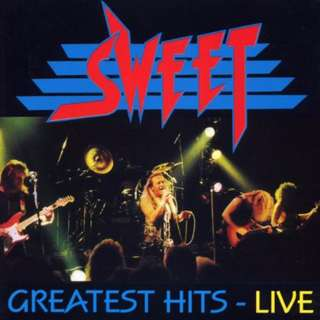 Sweet Greatest Hits Live cd