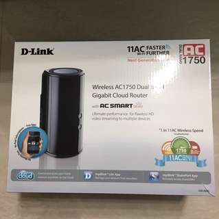Wireless Dlink Router AC1750