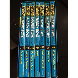 Almost new, hardly used Hardy Boys Series with cover