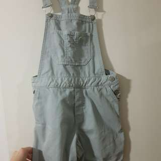 Forever New Denim Overalls (Only Worn Once)