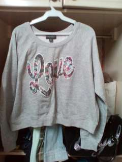 FOREVER 21 LOVE SWEATER