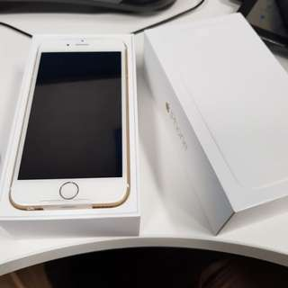 iPhone 6 16G Gold new!