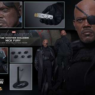 Hot Toys Nick Fury Winter Soldier MISB