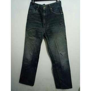 Celana jeans belel #cintadiskon