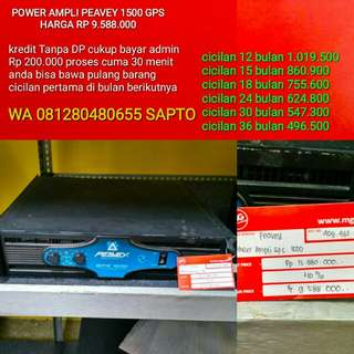power ampli pv 1500 gps bisa di cicil