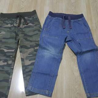 Preloved Branded Boy  Pants (H&M) 4 to 6 years old