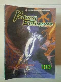 Pedang Setiawan #103