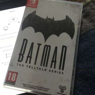 Nintendo Switch - Batman The Telltale Series