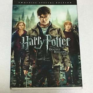30% OFF GREAT CNY SALE {DVD, VCD & CD}  HARRY POTTER AND THE DEATHLY HALLOWS PART 2 哈利•波特与死灵 第二集 - Two Disc Special Edition DVD