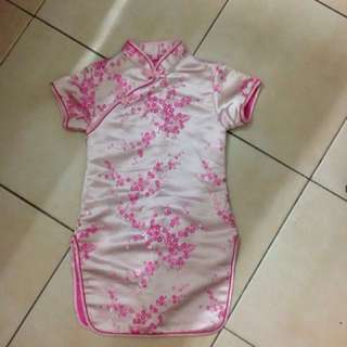 Cheong sum dress