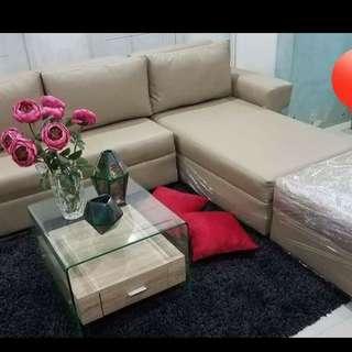 El shape sofa