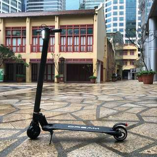 🍊CNY PROMO: Dream X Carbon Fiber Electric Scooter (The Commuter's Choice)