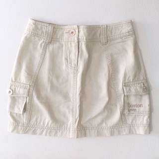 Mini Skirt Beige