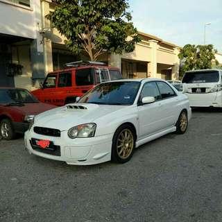 Subaru Impreza WRX V8 2.0 (M) AWD