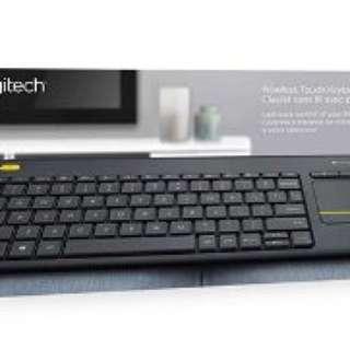 Logitech K400+