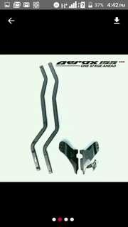Aerox NVX 155 box bracket rack
