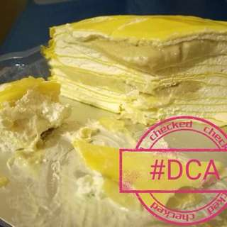 Mille durian crepe