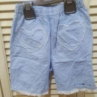 Girl shorts 4-5y